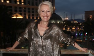 Emma Thompson at CinemaCon in Las Vegas on 3 April.