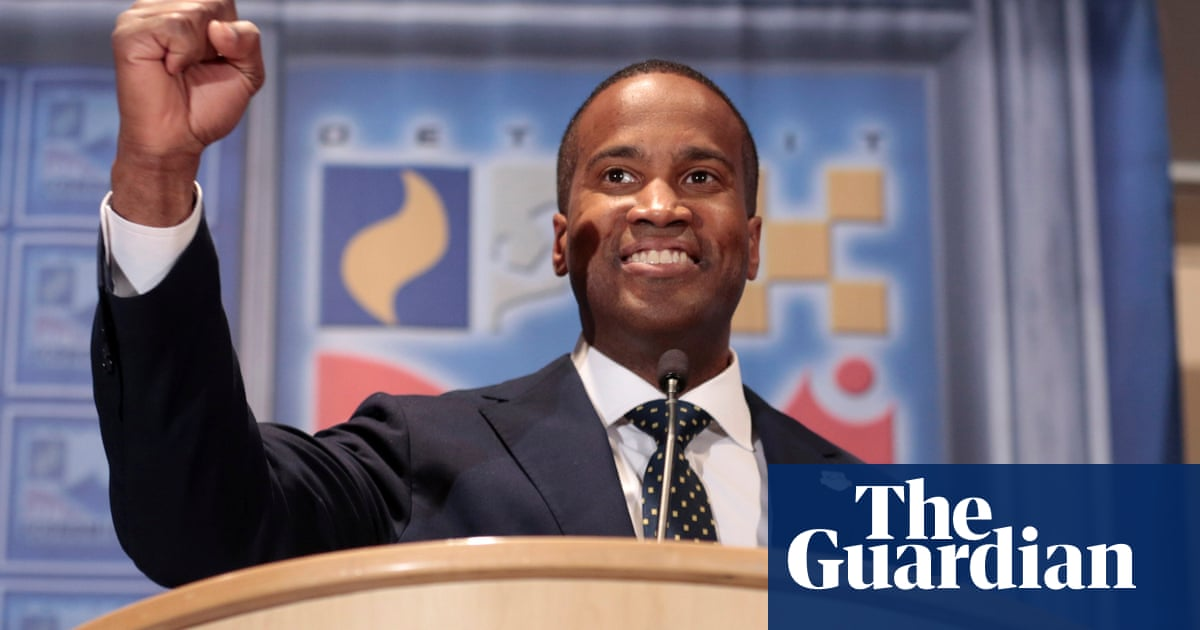 John James: 'Battle-tested, ready to lead' … and a black ...