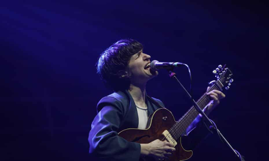 Adrianne Lenker of Big Thief at the Albert Hall, Manchester.