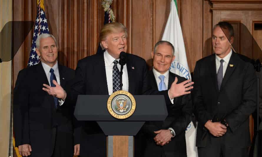 Trump Rolls Back green Energy