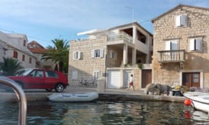 Home and away property for sailors in Croatia
