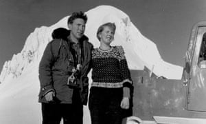 'My grandparents were founding partners of the Icelandic glacial research society; they went on a research trip together in 1955.'