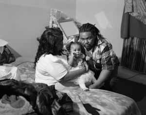 Malik's 1st Baby, Allentown, Pennsylvania, 2018 'She engages the charged line between documentary and fine art. Her work ranges from affecting studies on diaspora, family and place to revolving social phenomena in which energy, beauty and power meet,' writes Co-Editor Anika Sabin