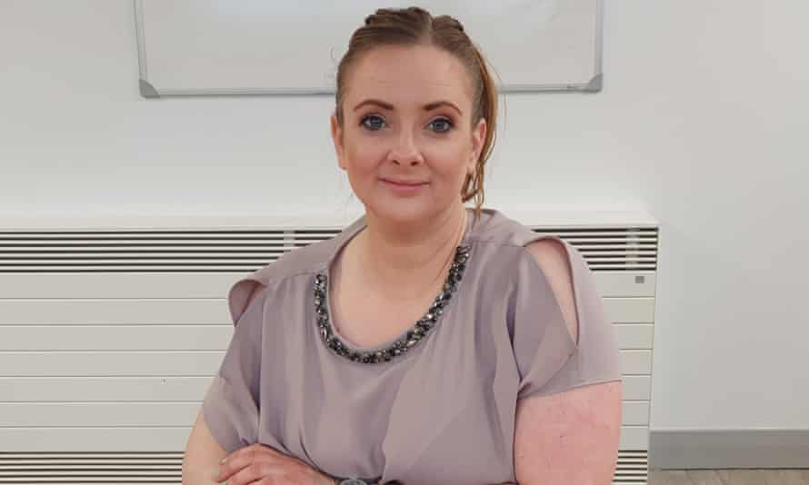Aisling Starrs, 38, a co-facilitator at tinnitus support group in Derry.