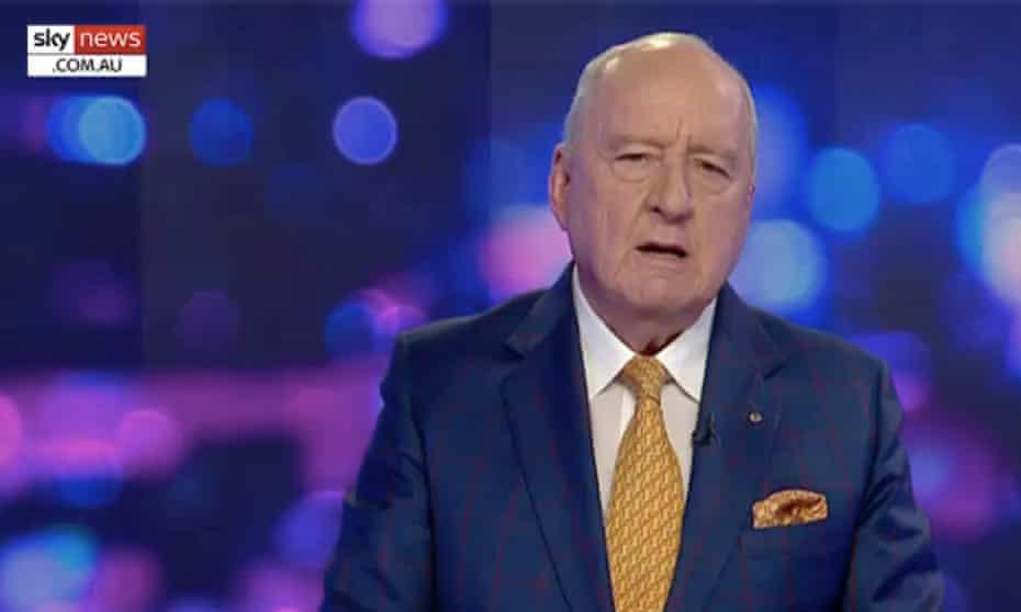 Sky News Australia host Alan Jones