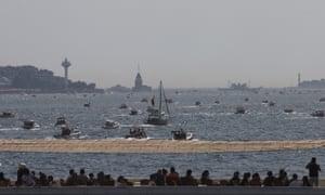 Sailing protest