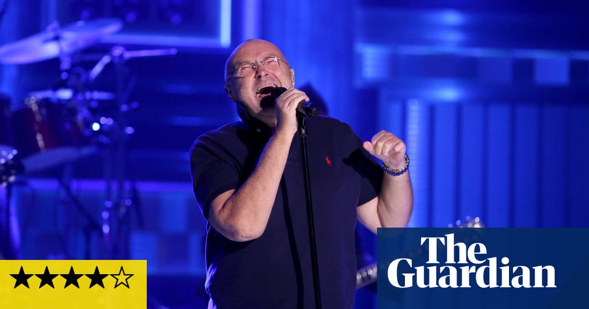 huge selection of efcd1 e4a28 Phil Collins review – take a look at him now | Music | The Guardian