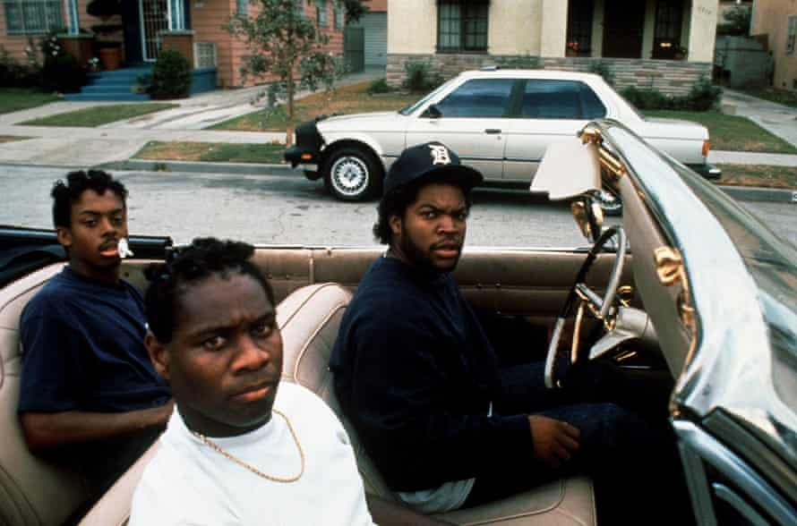 Ice Cube in Boyz N the Hood.