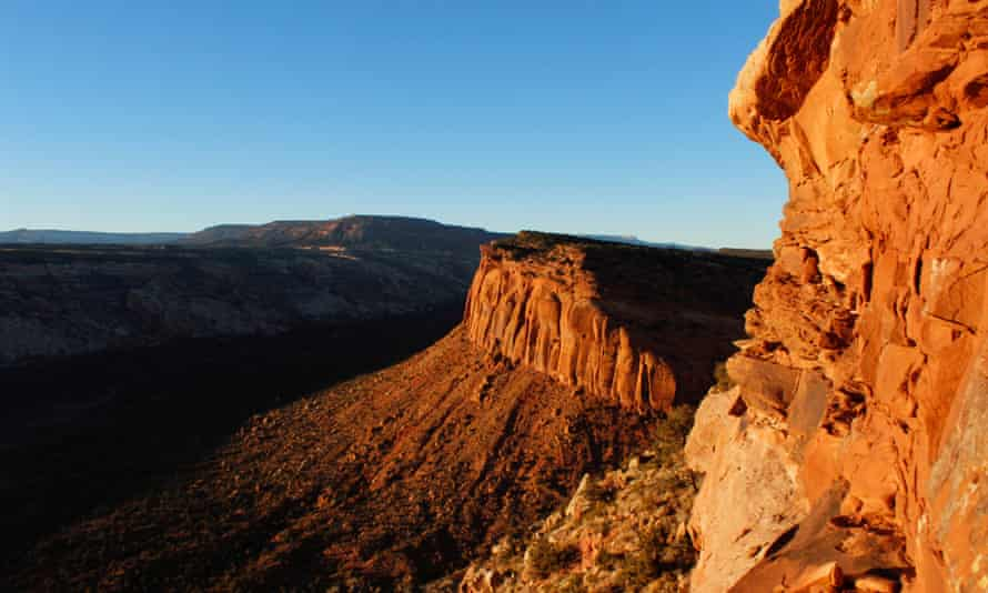 The view from Comb Ridge is pictured in Utah's Bears Ears area. The Bears Ears national monument is among those facing a threat from the White House.