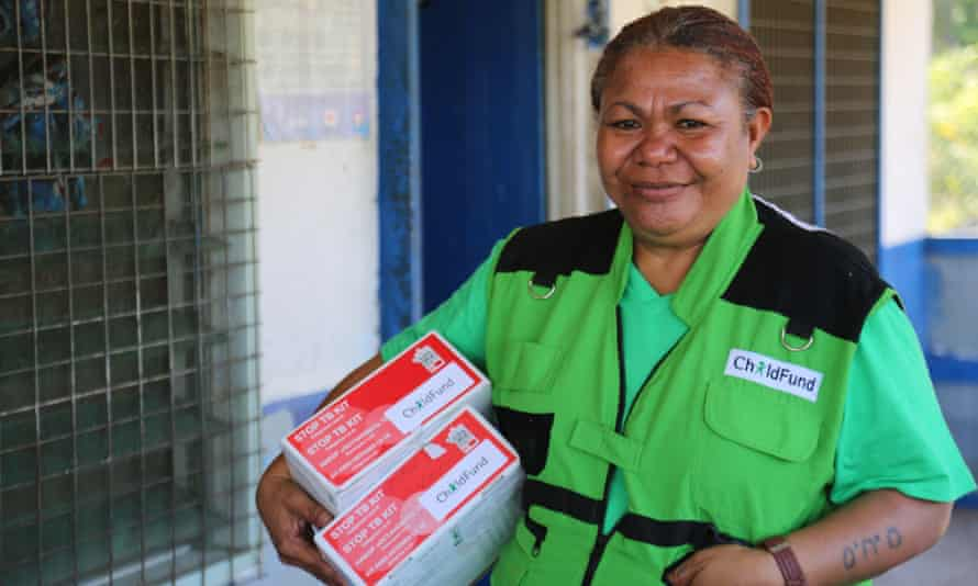 Olive Oa, head of ChildFund PNG's health program.
