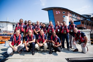 Future Leaders in Lifesavings course 2016 at the RNLI College in Poole. International