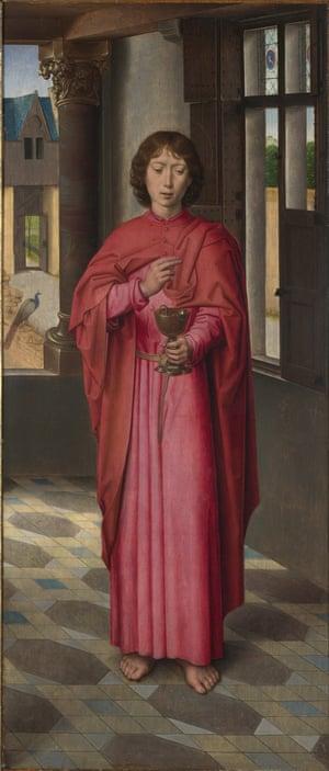 Hans Memling's Saint John the Evangelist about 1478