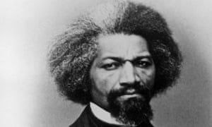 Frederick Douglass, pictured in 1855.