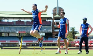 England's Ben Stokes prepares for the second one-day international against South Africa.