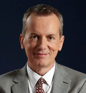 Head shot of comedian Frank Skinner
