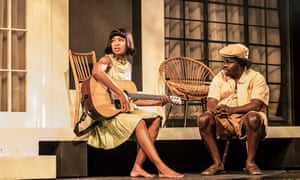 Powerful … Three Sisters at the National Theatre.