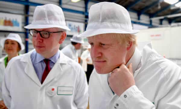 'I too watched speechless as Brexit unfolded, a Whitehall farce ... vote leave leaders Michael Gove and Boris Johnson drumming up support in Stratford-upon-Avon. Photograph: Andrew Parsons/Getty Images