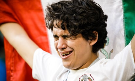 Mexico fans lament World Cup 'last-16 curse' after defeat to Brazil – video