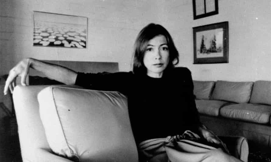Joan Didion in 1977.