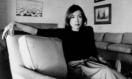 Joan Didion, 1977.