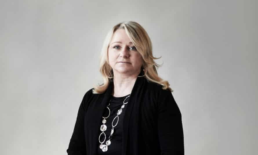 After the split: Vivien Hobbs.