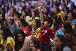 Hindus celebrate Diwali in London, England