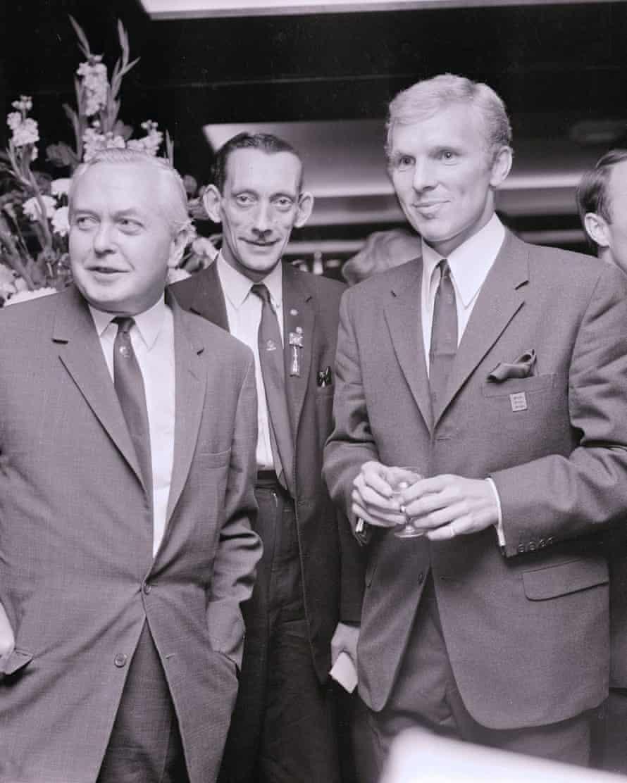 Harold Wilson meets Bobby Moore 1966
