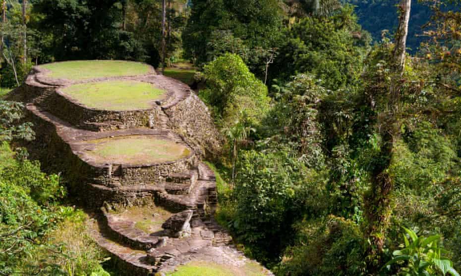 Ciudad Perdida, or Lost City, in Colombia.