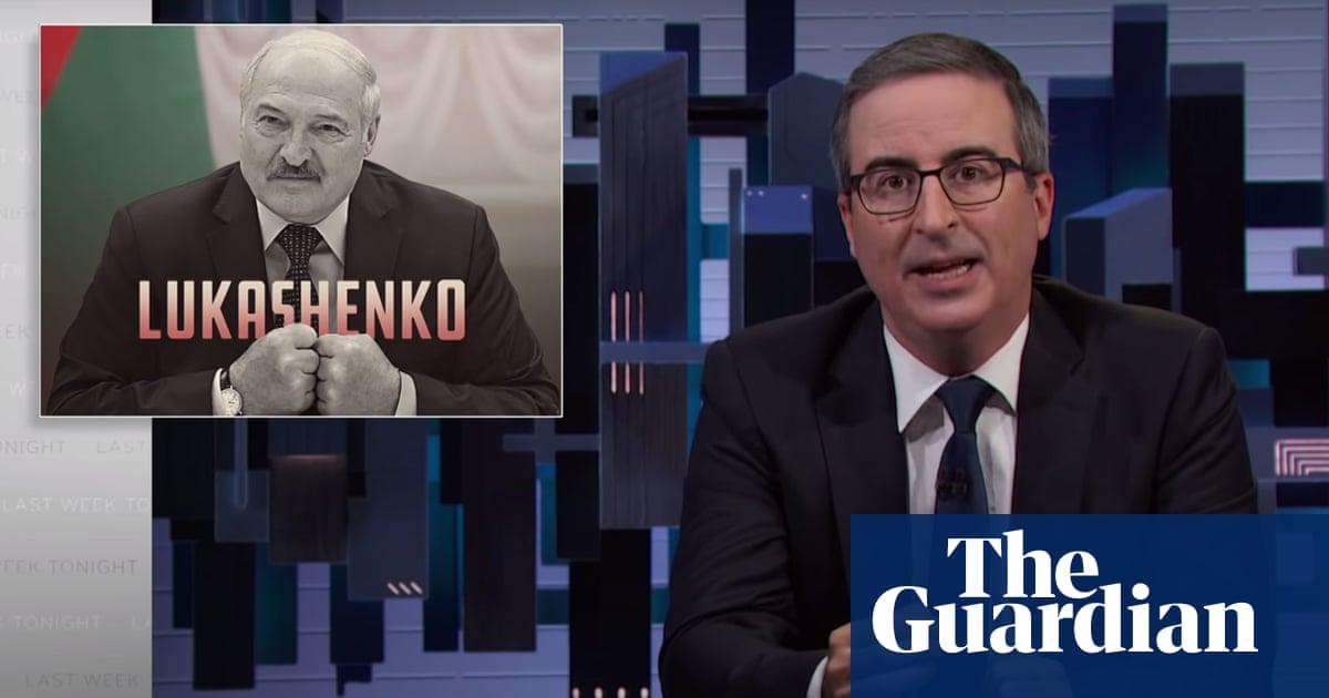 John Oliver unveils teddy bear plan to get under Belarusian dictator's skin
