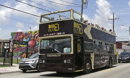 Big Bus tours still rolled through the neighborhood in early August, and galleries and cafes were open.