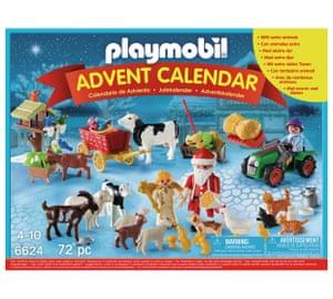 Christmas on the Farm, playmobil.co.uk