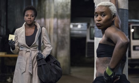 Viola Davis and Cynthia Erivo in Widows.