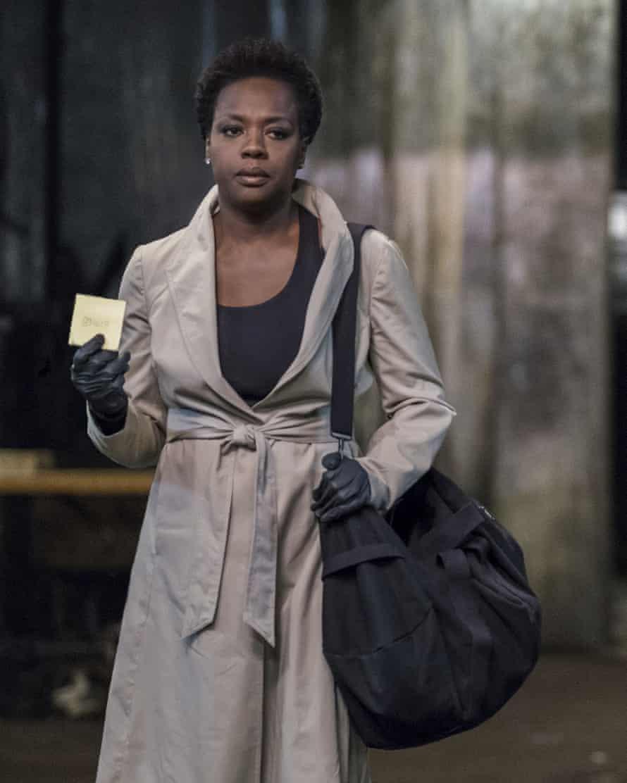 Davis as Veronica in her new film Widows.