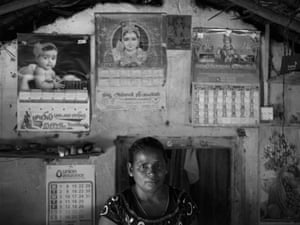 Vivekamanththan Yeyalinkeswary, 43, whose daughter, Tanoja, was 16 when she disappeared during an attack by the Sri Lankan army on the village of Mullivaikal.