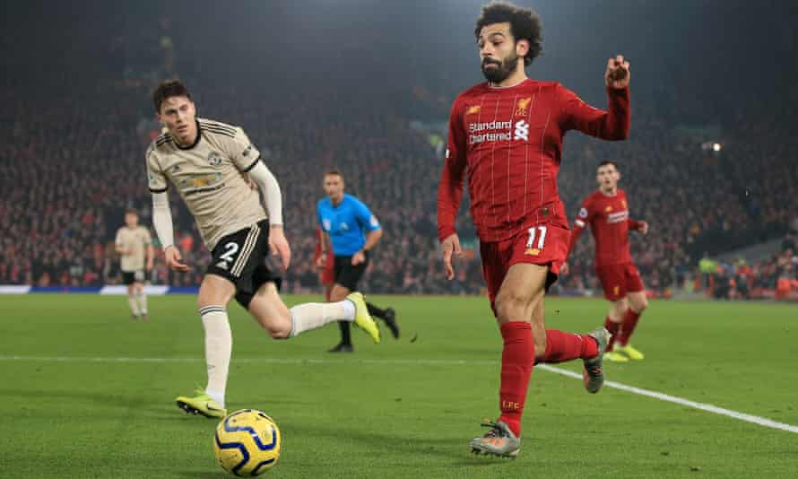 Liverpool and Manchester United in action at Anfield last season. Could they form part of a European Premier League?