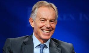 Tony Blair in 2013.