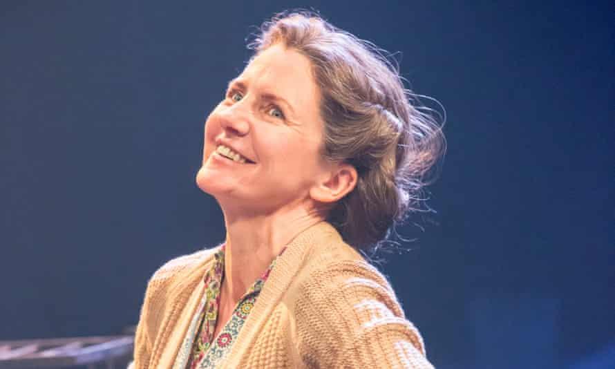 'Impeccable': Clare Burt as Ada Harris at the Crucible.
