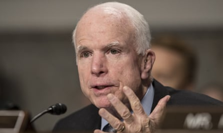 John McCain said the suggestion a president would wiretap someone in the running to replace him was illegal and unheard of