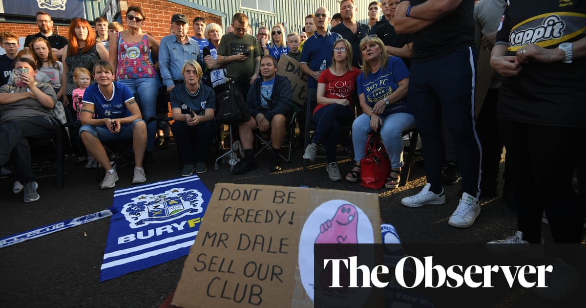 EFL gives Bury Tuesday deadline for Campbell takeover to go through