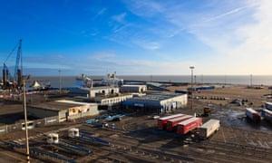 Ramsgate ferry terminal.