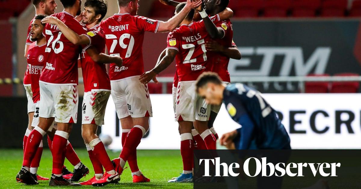 Famara Diedhiou hits winner for Bristol City against Wayne Rooneys Derby