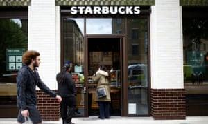 An open Starbucks in Southwark, London, last year.