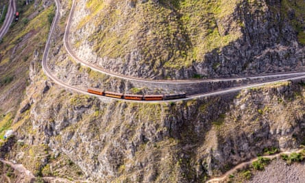 Train Ride, Devils Nose, Nariz Del Diablo, Ecuador