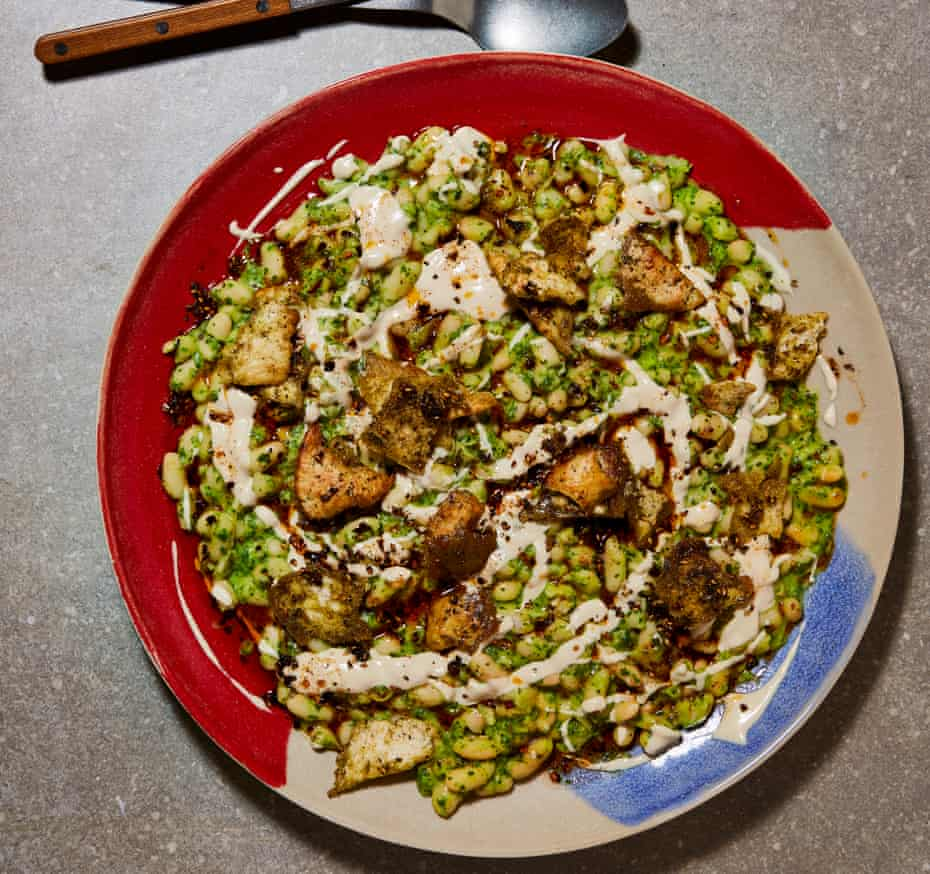 Ottolenghi Test Kitchen green cannellini and tahini