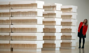 Rachel Whiteread's Untitled (Book Corridors) at the Tate Britain.
