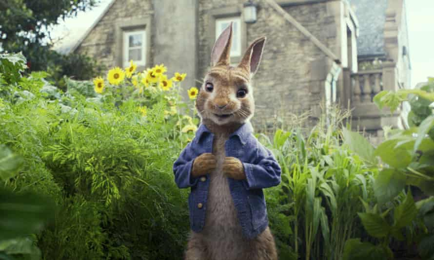 Cinema release postponed ... Peter Rabbit 2. Photograph: Columbia Pictures/Sony via AP