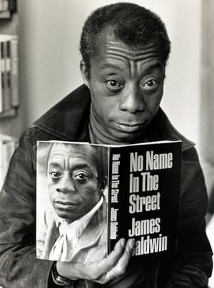 James Baldwin at a London book launch in 1972.
