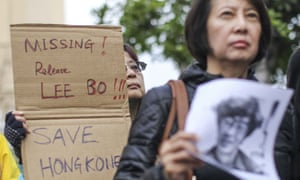 Lee Bo is one of five Hong Kong publishers suspected to have been abducted by China over their company's role in publishing books critical of the Communist Party.