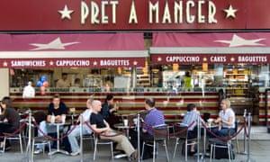 A Pret a Manger store
