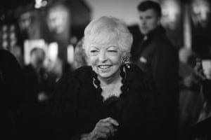 Master film editor Thelma Schoonmaker, who first worked with Martin Scorsese in 1967, was honoured with the Bafta Fellowship